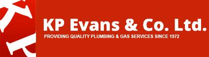 KP Evans logo